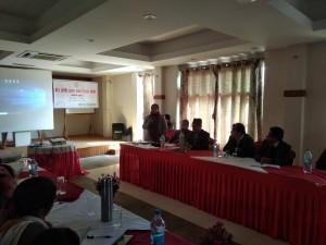 Hon Minister Bimala KC,MOLMAC, Karnali Pardesh participated on workshop dicssion