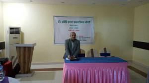 Mr.Yam-Narayan-Devkota-,-Secretory-MOLMAC-Province-5-adressing-on-butawal-Workshop