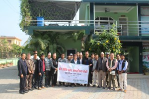 Participants on Dhanghadi Workshop meeting